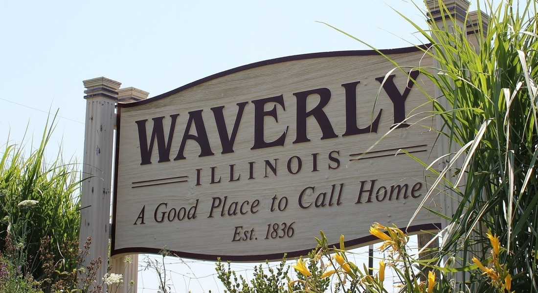 Waverly sign