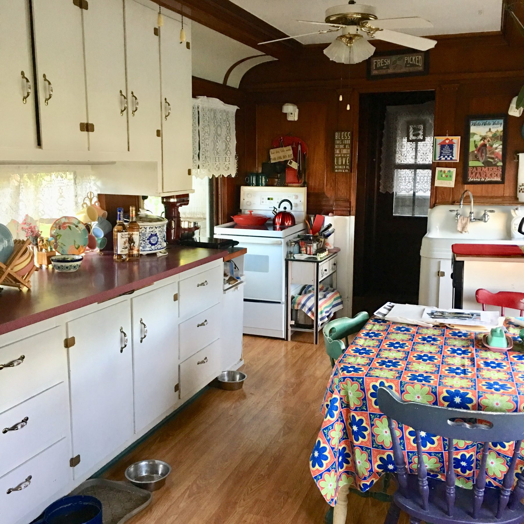 Maxson kitchen and dining room